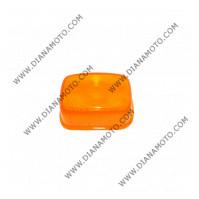 Стъкло за мигач MBK Yamaha Booster 50 Spirit преден десен оранжев к. 5372
