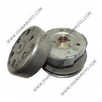 Съединител центробежен к-т с шайби и камбана Suzuki Address 50 Sepia 50 TGB 50 ф110 k. 9779