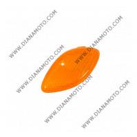 Стъкло за мигач Yamaha JOG 50 SA01J 5BM-83312-00 преден ляв оранжев к. 1080