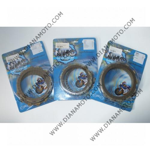 Съединител NHC 158x123x3.5 - 9 бр. CD6680 R Friction paper к. 14-465