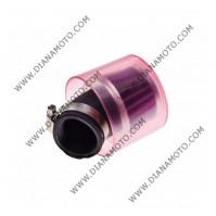 Въздушен филтър спортен ф 35 мм с капак 45 градуса к. 12608