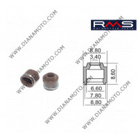 Гумички за клапан Yamaha Neos Jog BWS 50 4T 3.4x6.6-7.8x8.60 RMS 100669270 к. 9588