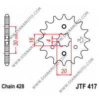 Зъбчатка предна JTF 417 - 14 k. 6387