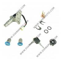 Ключалки к-т GY6 Keeway Sym Vento Rieju 50 4 кабела к. 3-4