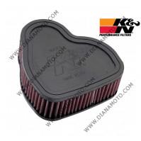 Въздушен филтър K&N HA 1330 к. 5-50