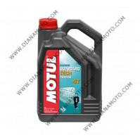 Масло Motul Outboard Tech 4T 10w40 полу синтетика 5 литра
