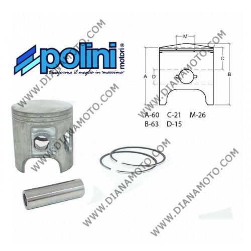 Бутало к-т Aprilia 125 Rotax ф 60.00 мм Polini болт 15мм к. 161