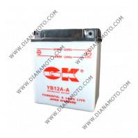 Акумулатор YB12A-A  GK к. 653