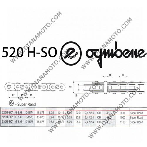 Верига Ognibene 520 H-SO G&G - 120L к. 41-48