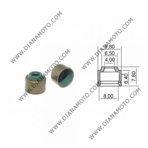 Гумички за клапан Yamaha Majesty X-max Cygnus  4x8-9.8x6.5-7.8 равни на код RMS 100669300 к. 4758