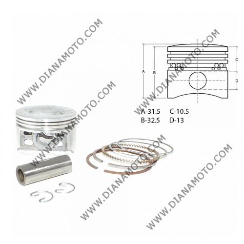 Бутало к-т PGO T-REX 125 ф 51.50 мм STD болт 13 мм ОЕМ качествок. 6033