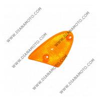 Стъкло за мигач Aprillia SR 50 преден ляв оранжев с два болта к. 5464
