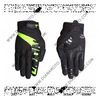 Ръкавици GLEN II черно-жълти Nordcode L к. 11632