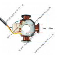 Статор Peugeot Fox 50 103 SPX MVL бобини 4 ф 99 мм - 3 кабела к.11998