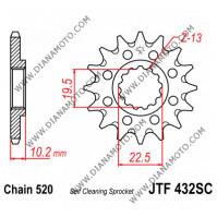 Зъбчатка предна JTF 432 SC - 14 самопочистваща к. 8004