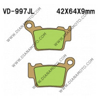 Накладки VD 997 EBC FA368 SBS 791 NHC O7065 CU-1 СИНТЕРОВАНИ к. 14-155