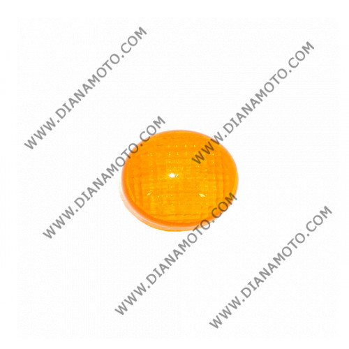 Стъкло за мигач Yamaha Aerox MBK Nitro 50 заден ляв оранжев к. 5144