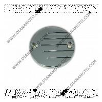 Декоративна капачка за казанче спирачна течност Kawasaki VN750-800-1500 хром к. 3380