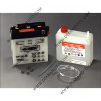 Акумулатор 6N11A-1B 4RIDE MZ 125 6V к. 11077