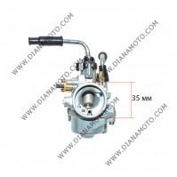 Карбуратор PHBN ф 17.5 Yamaha Aerox 50 MBK Booster 50 Aprilia Rally 50 Malaguti F12 50 с ръчен смукач к. 9708