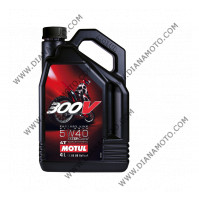 Масло Motul 300V 5W40 4л Factory Line Off-Road