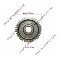 Зъбно колело предавателно ос гума 125 - 150cc 40 зъба k. 3-107