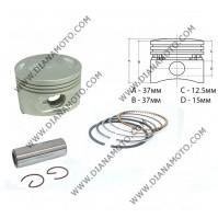 Бутало к-т Kymco Agility 150 ф 57.40 мм OEM качество к. 10411