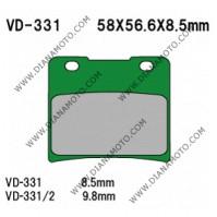 Накладки VD 331 EBC FA103 FERODO FDB389/R LUCAS MCB542 NHC S3020 AK150 Органични к. 14-83