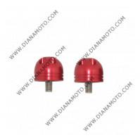 Тапи за кормило H050 универсални червени к. 5811