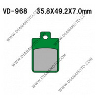 Накладки VD 968 EBC FA260 FERODO FDB968 FDB2057 LUCAS MCB695 Органични к. 2246