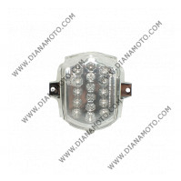 Стоп цял Aprilia SR 50 Factory LED с вградени мигачи бял к. 9409