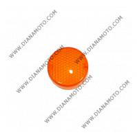 Стъкло за мигач Malaguti F12 50 преден ляв оранжев к. 5134
