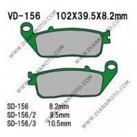Накладки VD 156/2 EBC FA142 FA196 FERODO FDB664 FDB570 NHC H1048 AK150 Органични k. 14-15