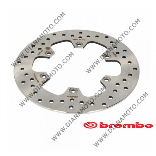 Спирачен диск заден Yamaha Tmax 500 ф 267x132x5 мм 6 болта Brembo 68B407E4 к. 10836