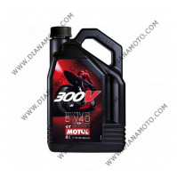 Масло Motul 300V 5W40 4л Factory Line Road Racing