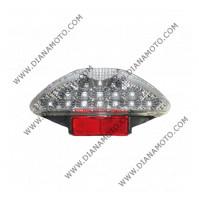 Стоп цял Yamaha Aerox MBK Nitro 50 100 хром LED к. 5541