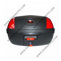 Куфар 46 литра черно-червен к. 4454