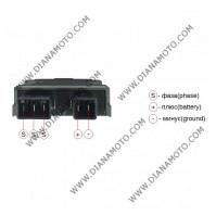 Реле зареждане Honda CBR CBF CB SWT 250/400/600/1000 31600-MFG-D01 5 пина 35Ah к. 4767