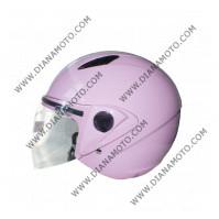 Каска VR1 J1-V #2 розаво-бяло XS к. 3143