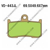 Накладки VD 443 EBC FA347 FERODO FDB2158 LUCAS MCB737 NHC K5047 CU-1 СИНТЕРОВАНИ к. 14-336