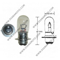 Крушка за фар 12V/25/25W 1краче P15D-1 нормална к. 554
