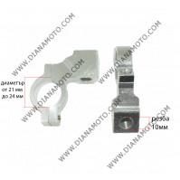 Стойки за огледала к-т 10 мм алуминиеви к. 3410