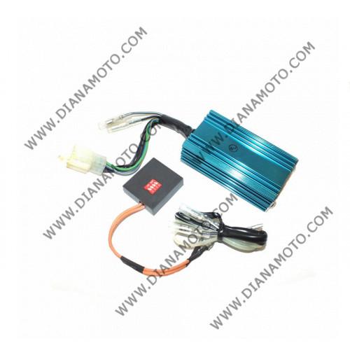 Електроника без ограничител RACING Honda Tact 09 16 Kymco Peugeot Speedfight 50 променливо токова AC к. 3901