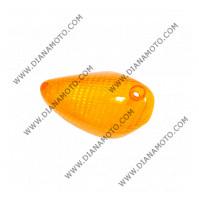 Стъкло за мигач Piaggio NRG 50 преден десен оранжев к. 5442
