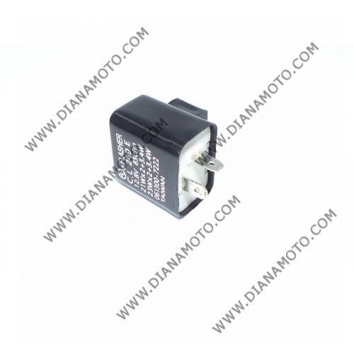 Реле мигачи 12.8V 21W2 23W2 2 пина LED к. 946