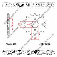 Зъбчатка предна JTF 1264 - 17 к. 10594