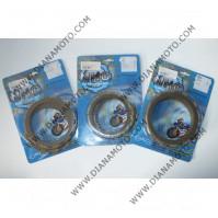 Съединител NHC 161x129x3.8 - 9 бр. 12 зъба CD5588 Friction paper к. 14-378