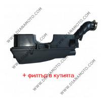 Филтърна кутия GY6 50 за китайски скутер около амортисьор к. 3-37