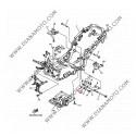 Биалетка окачване Yamaha Majesty Skyliner 250 OEM 4HC214800000 k. 27-37