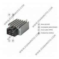Реле зареждане Honda KYMCO GY6 50 LJ50QT-L RMS 246030070 равно на код RMS 246030072 4 пина к. 3-262